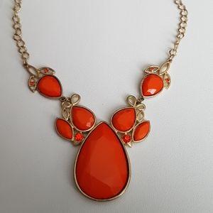 Vintage Orange Necklace